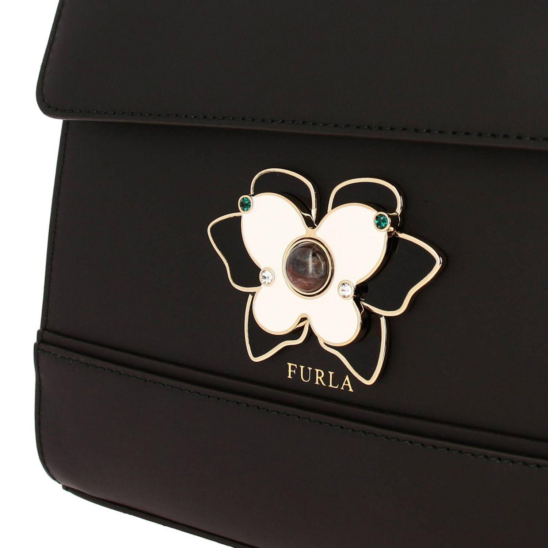 Mini bag Furla: Shoulder bag women Furla black 4