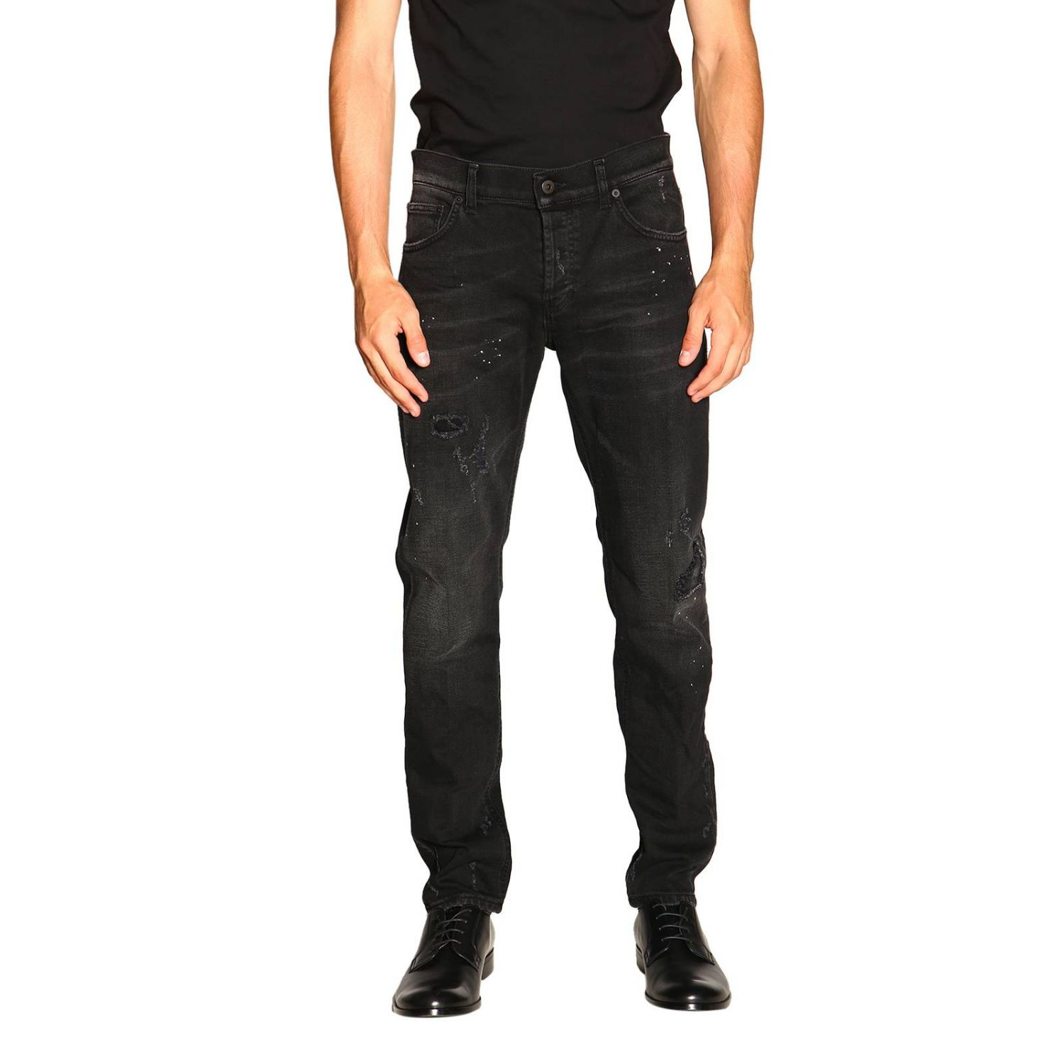 Jeans men Dondup black 1