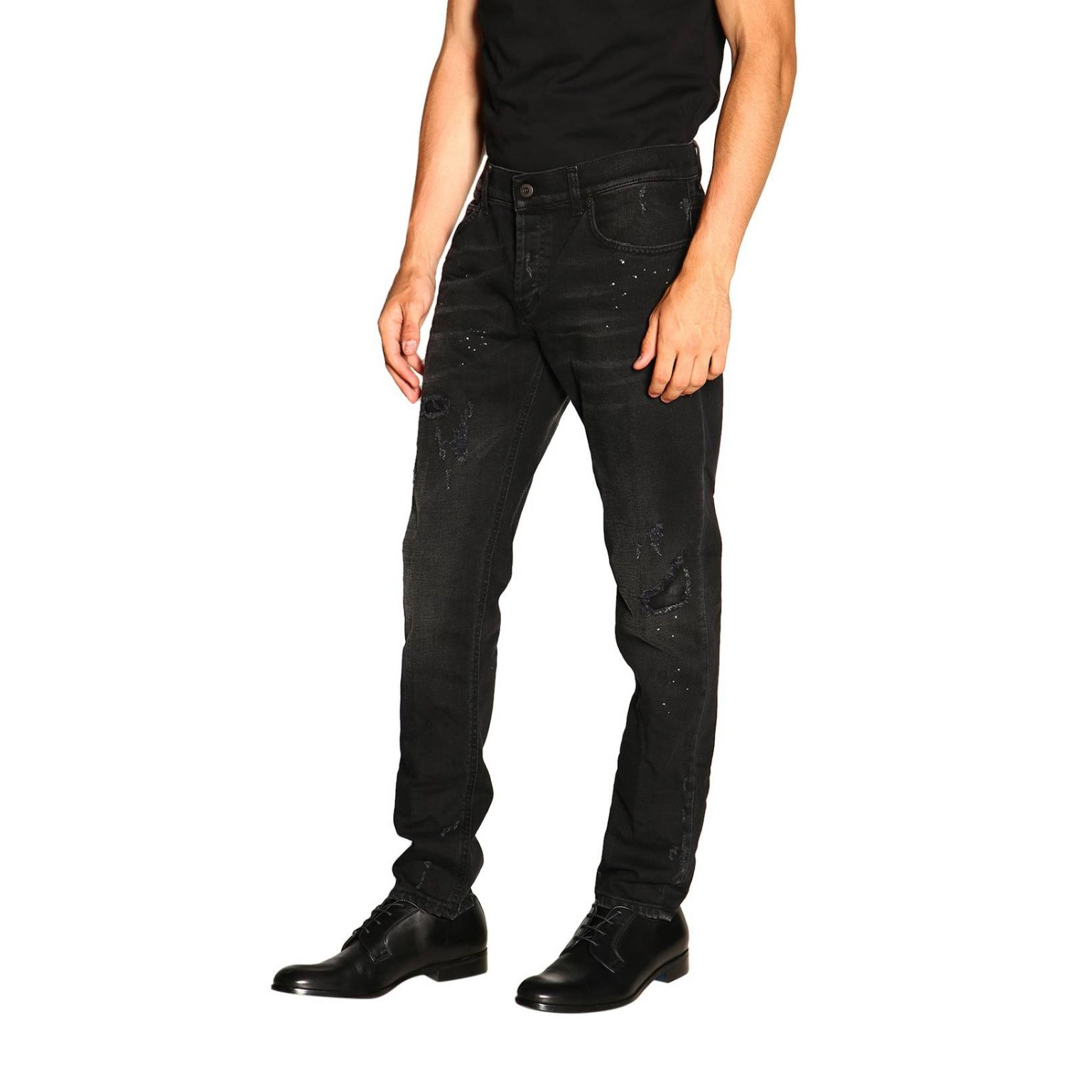 Jeans men Dondup black 4