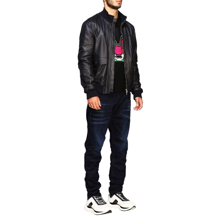 Pullover herren Diesel schwarz 2