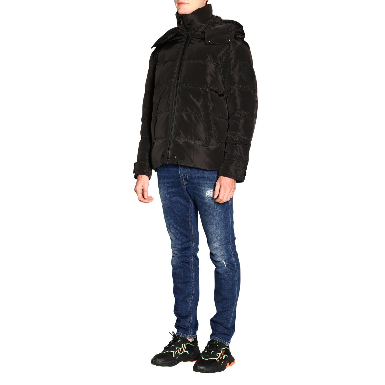 Jacket Diesel: Jacket men Diesel black 4