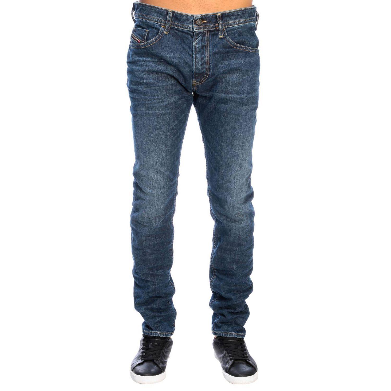 Jeans Diesel: Diesel Thommer Slim skinny stretch denim jeans with 5 pockets denim 1