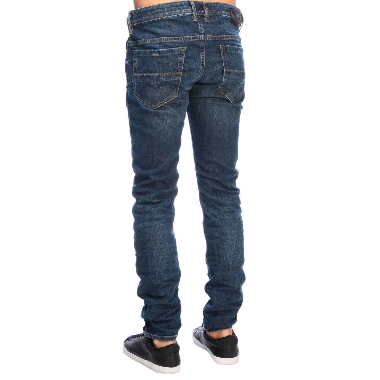 Jeans Diesel: Diesel Thommer Slim skinny stretch denim jeans with 5 pockets denim 3