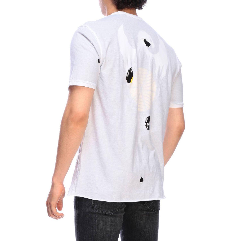 T-Shirt Diesel: Diesel T-Shirt mit Maxi-DDDL-Print weiß 3