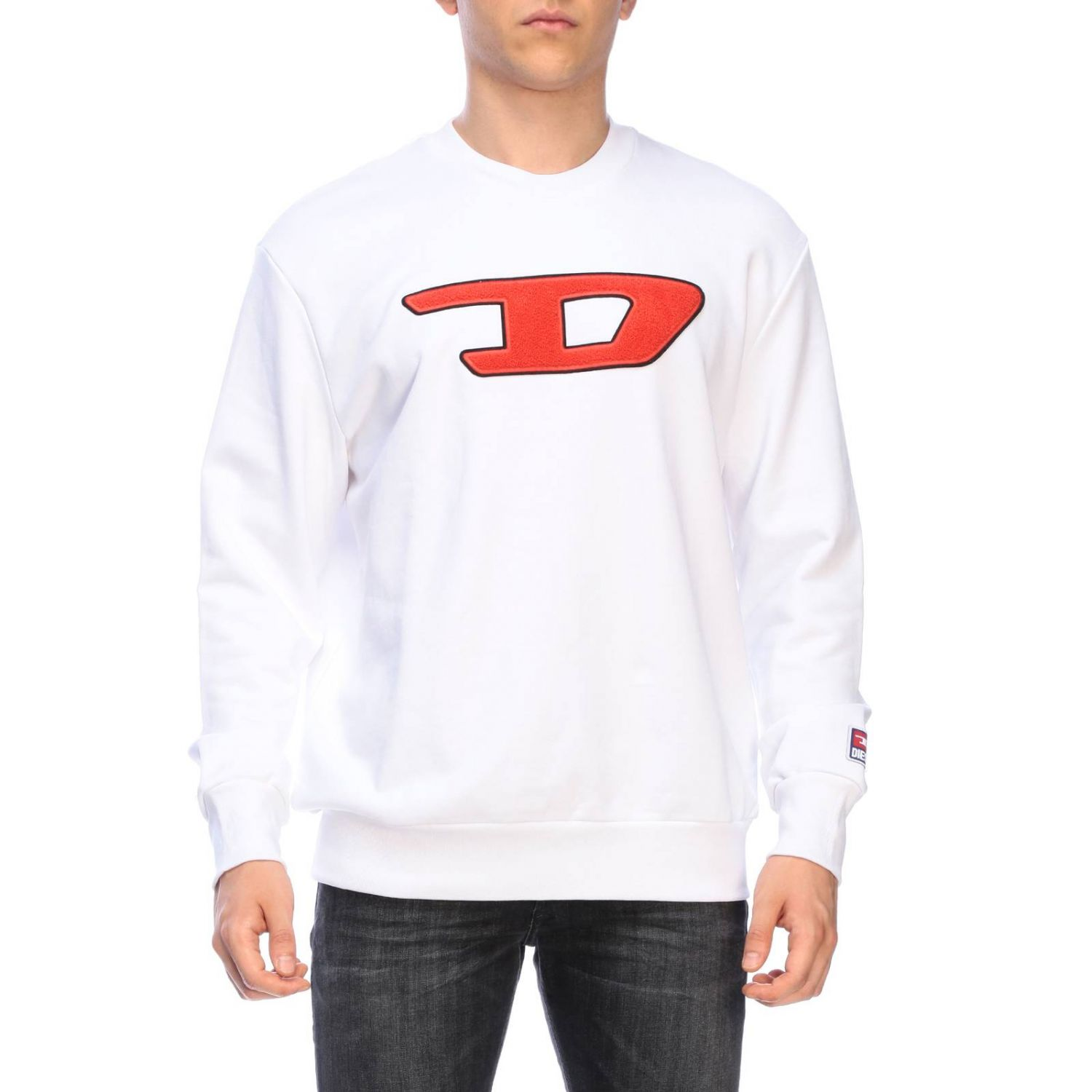 Jumper men Diesel white 1