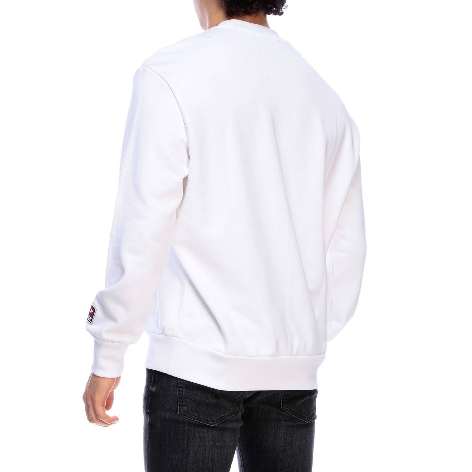 Jumper men Diesel white 3