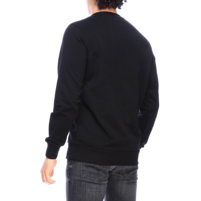 Diesel crew neck sweatshirt with maxi print logo black 3