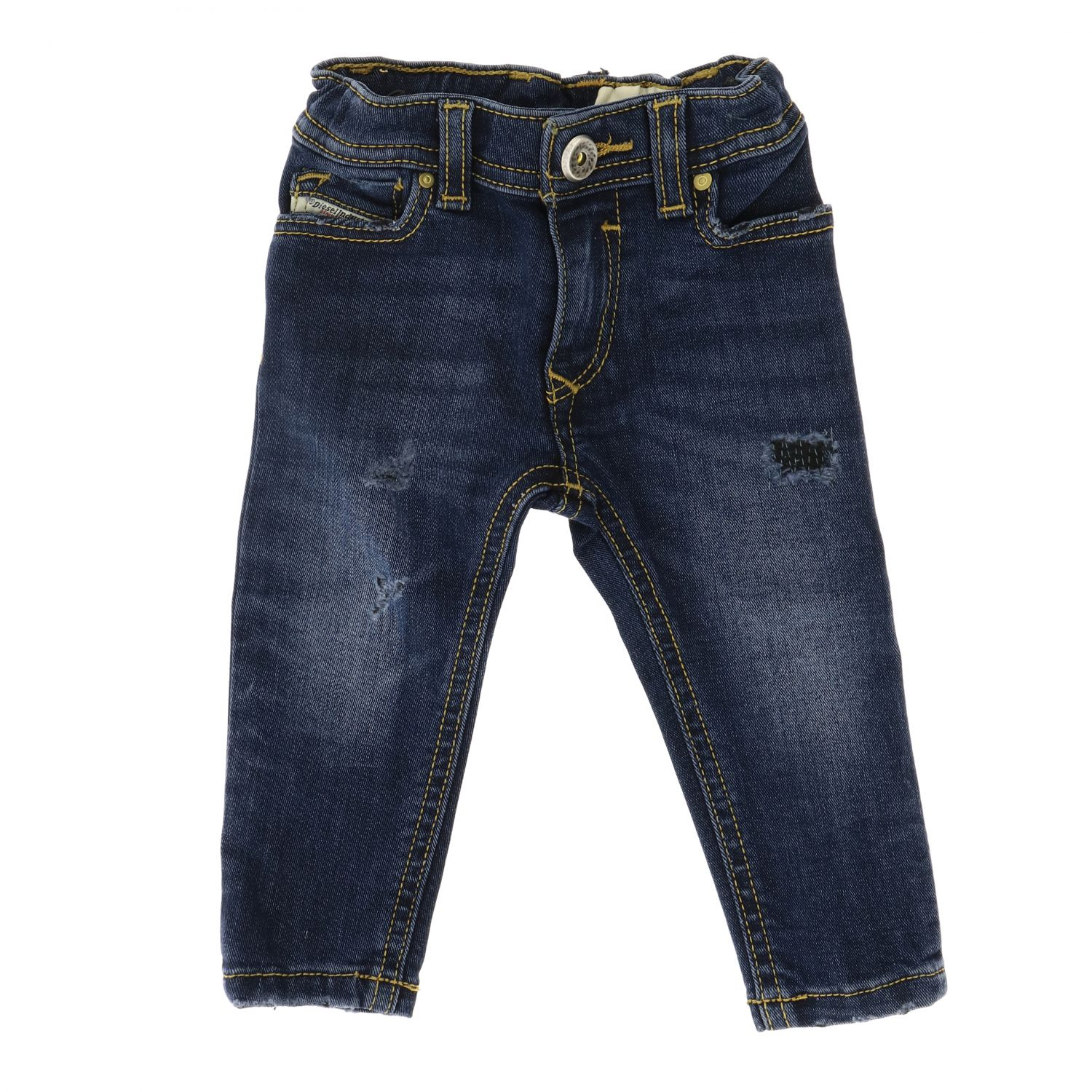 Sleenker Stretch Diesel Jeans aus Denim blau 1