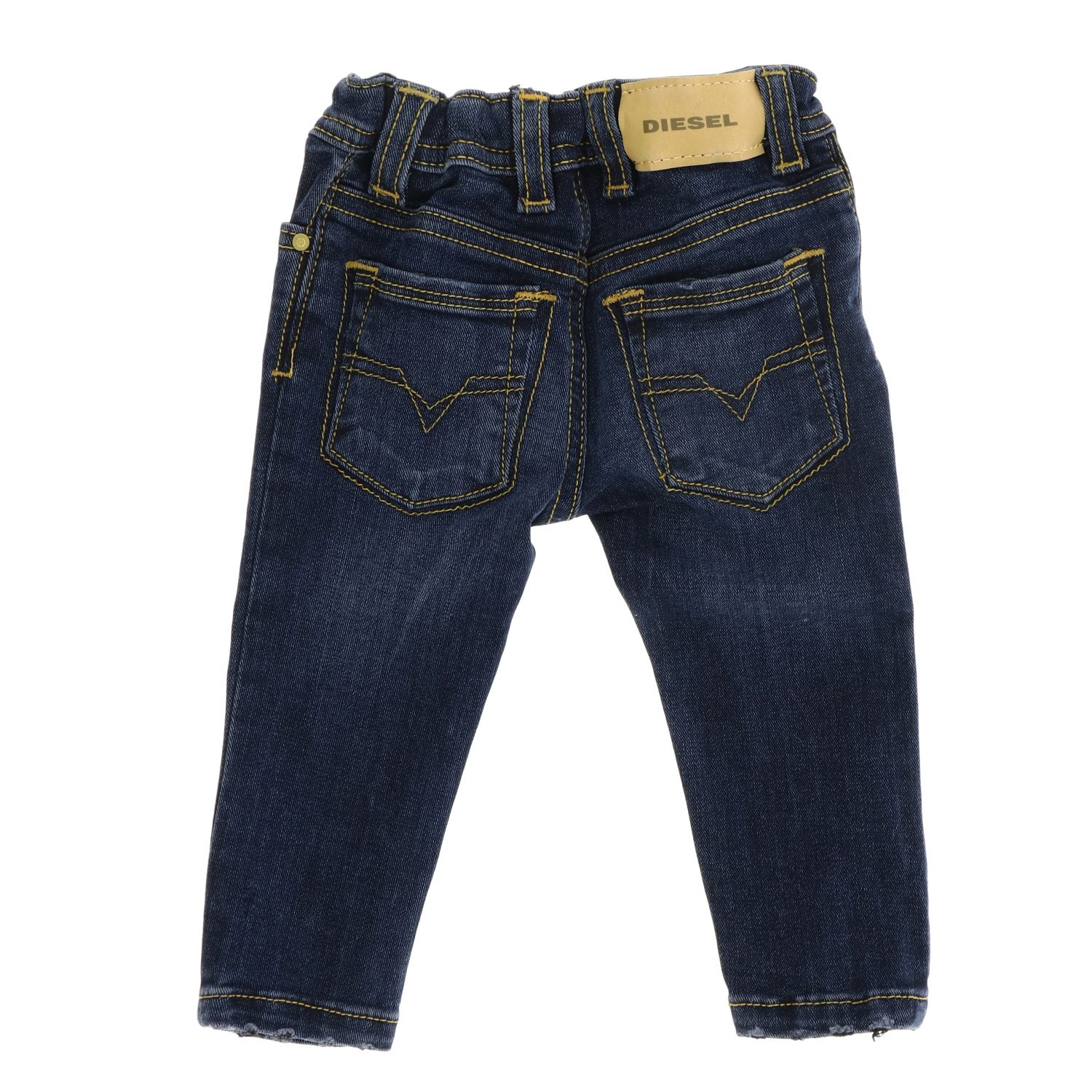 Sleenker Stretch Diesel Jeans aus Denim blau 2