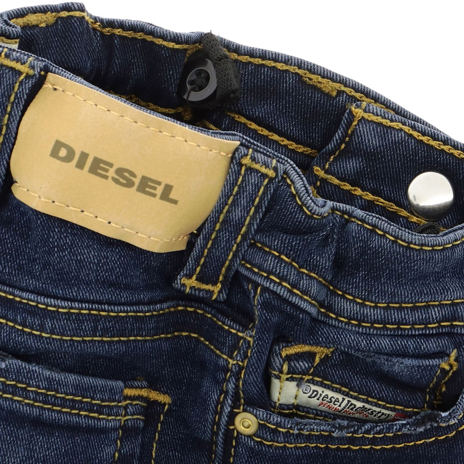 Sleenker Stretch Diesel Jeans aus Denim blau 3