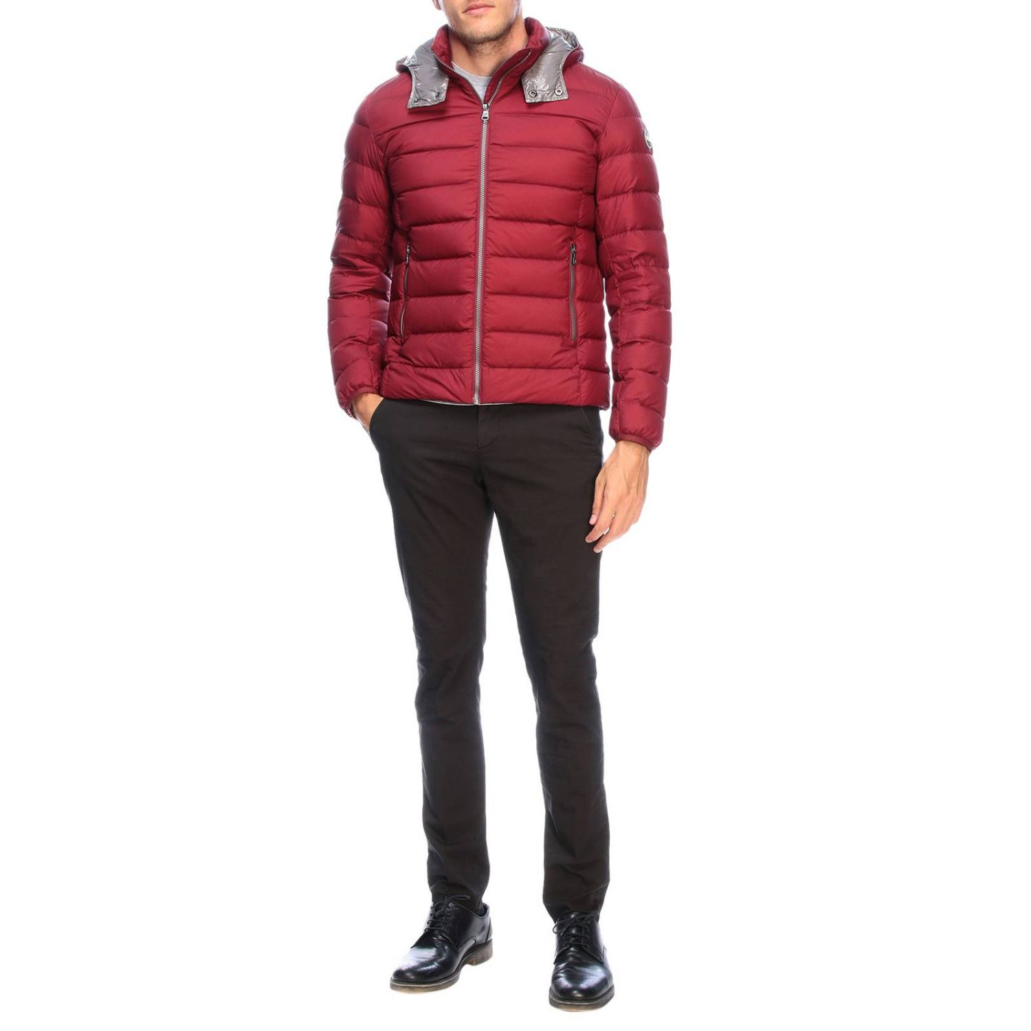 Jacket men Colmar burgundy 2