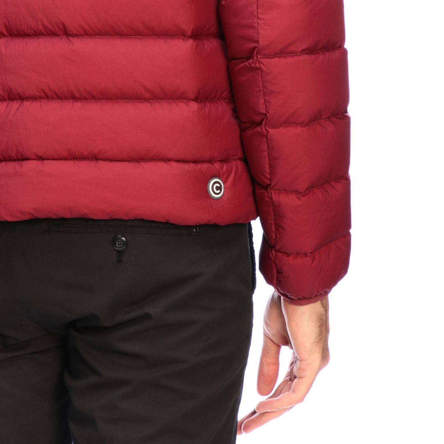 Jacket men Colmar burgundy 4