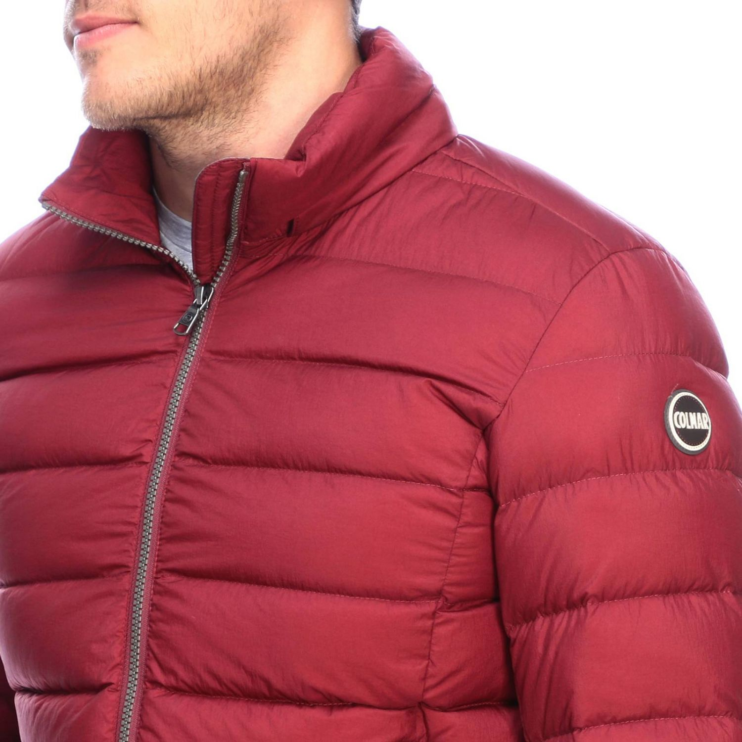 Jacket men Colmar burgundy 5
