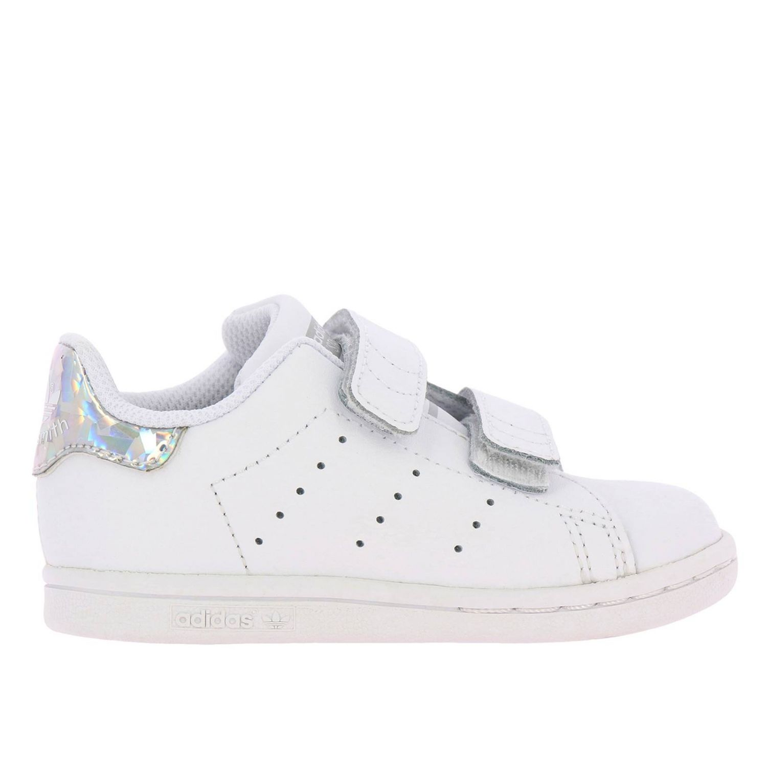 Shoes Adidas Originals: Stan Smith Adidas Originals Sneakers in smooth leather with mirrored heel white 1