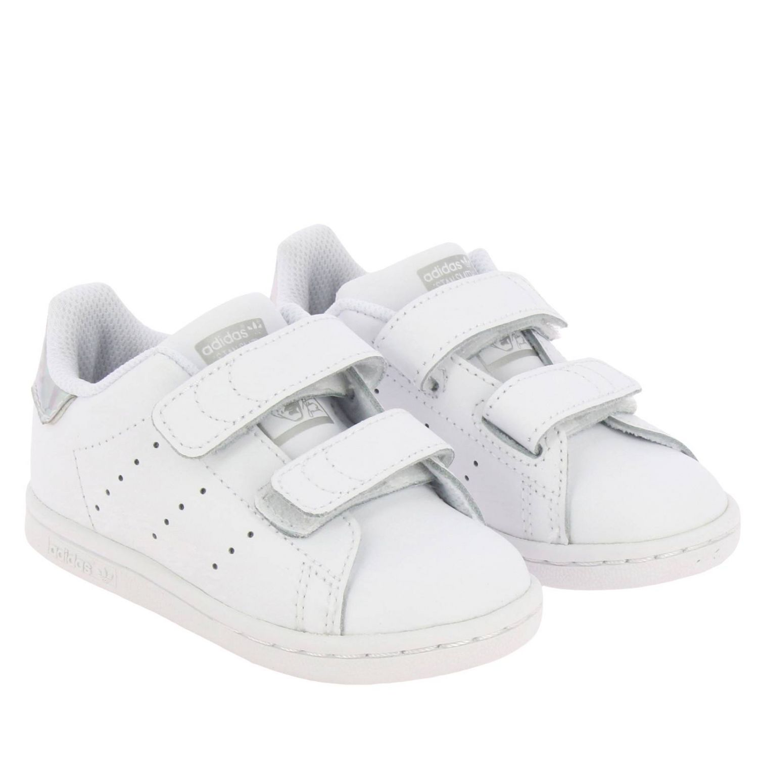 Shoes Adidas Originals: Stan Smith Adidas Originals Sneakers in smooth leather with mirrored heel white 2