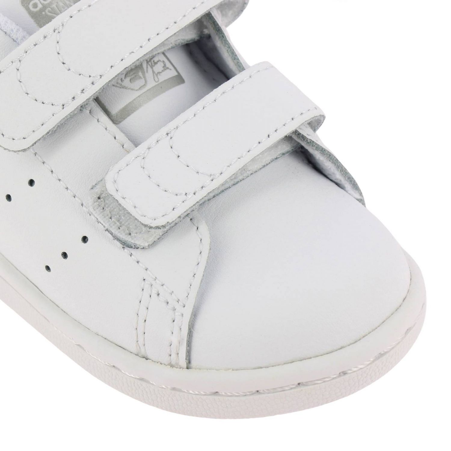 Shoes Adidas Originals: Stan Smith Adidas Originals Sneakers in smooth leather with mirrored heel white 3