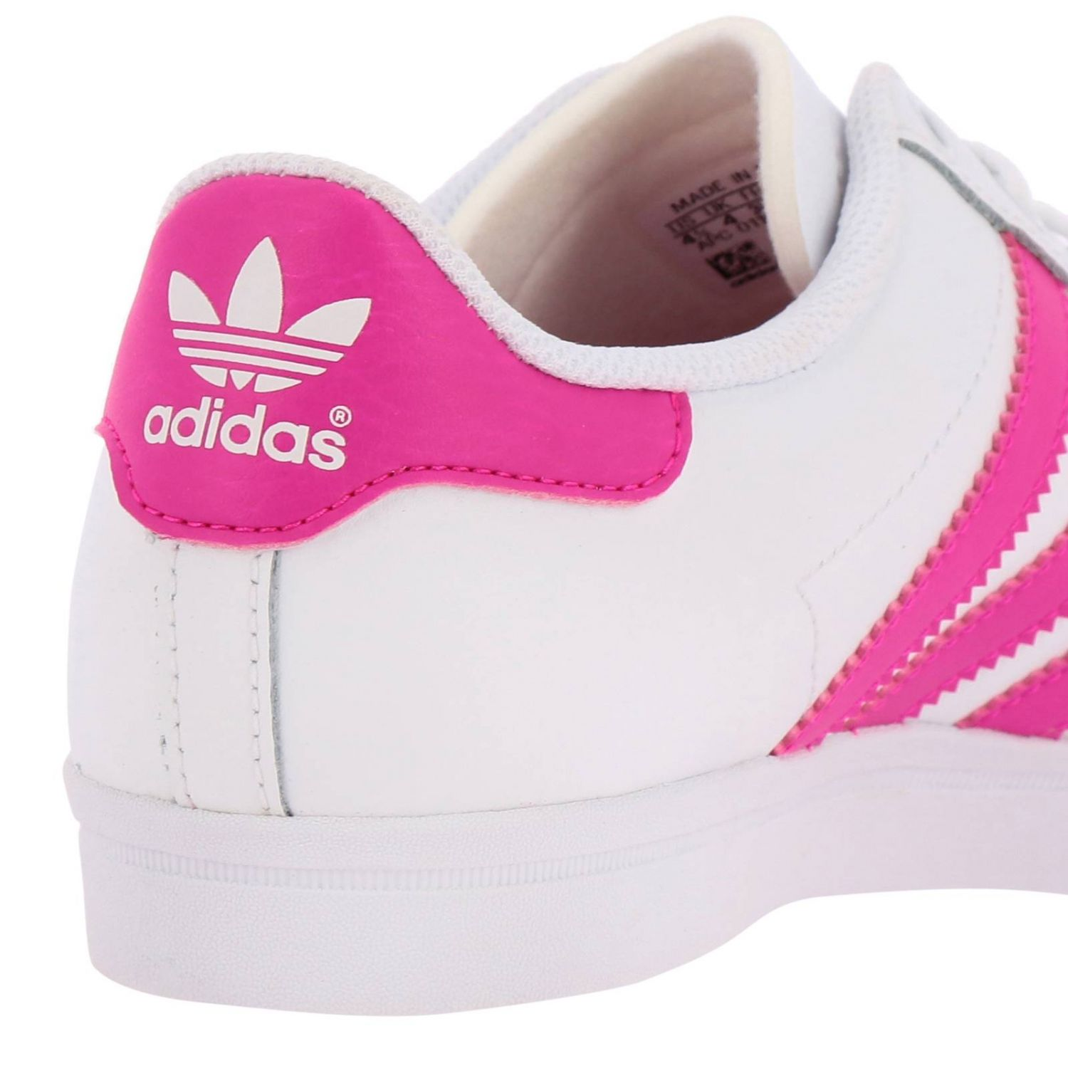 Scarpe Adidas Originals: Sneakers Coast star J Adidas Originals in pelle con bande a contrasto bianco 4