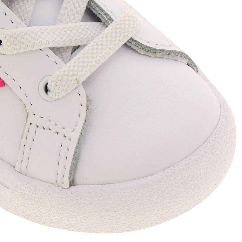 Scarpe Adidas Originals: Sneakers Coast star Adidas Originals in pelle con bande a contrasto bianco 3