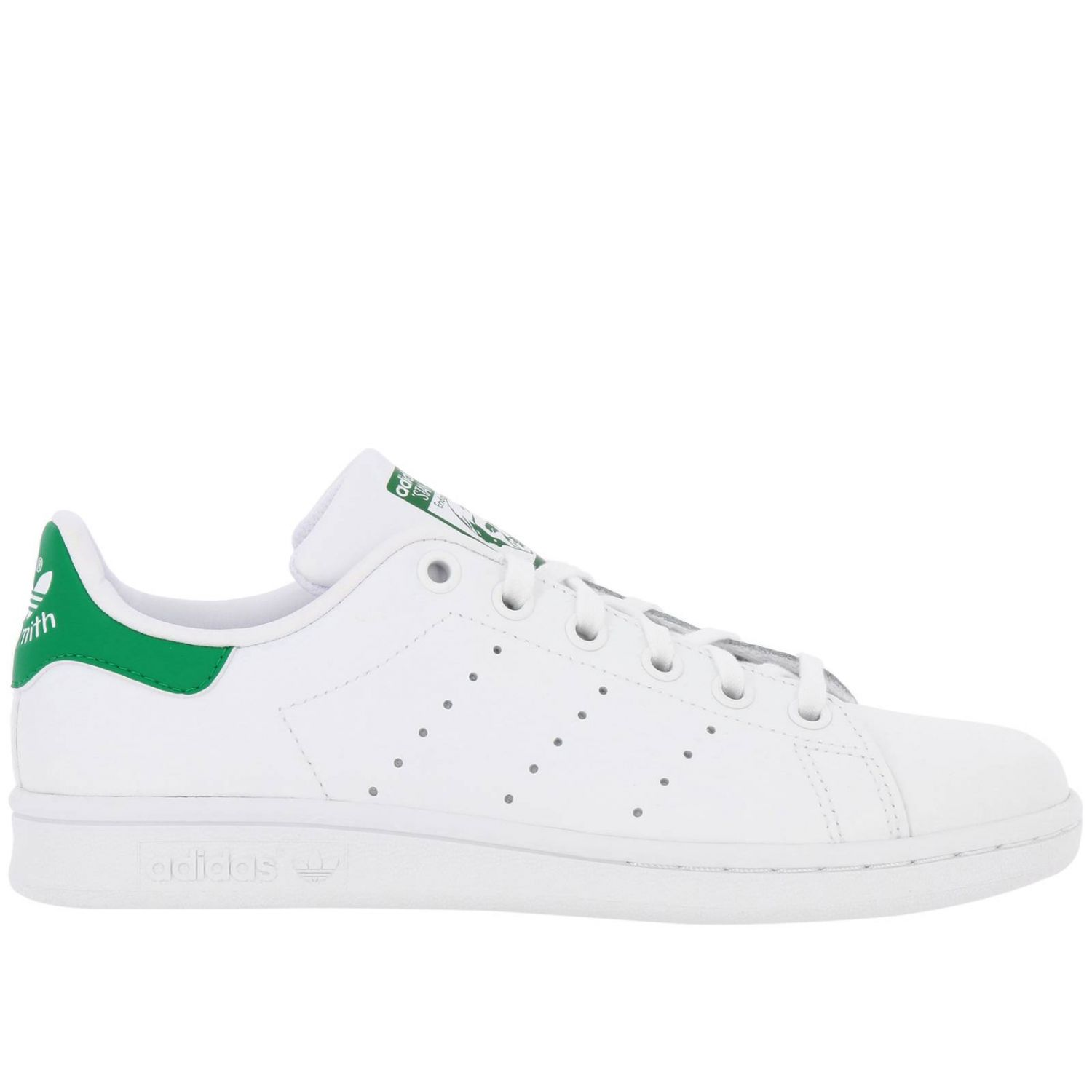 Shoes Adidas Originals: Stan Smith J Adidas Originals Sneakers in smooth leather white 1