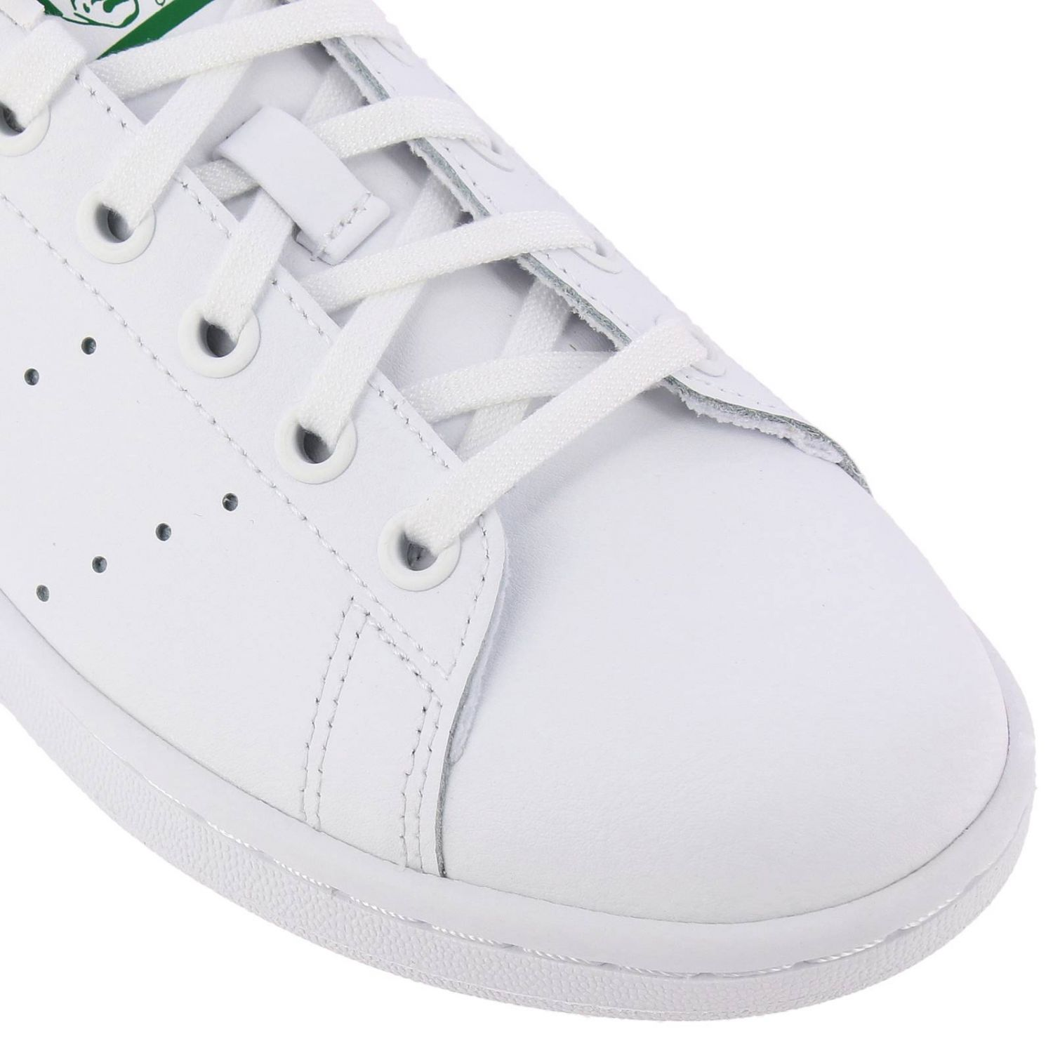Shoes Adidas Originals: Stan Smith J Adidas Originals Sneakers in smooth leather white 3