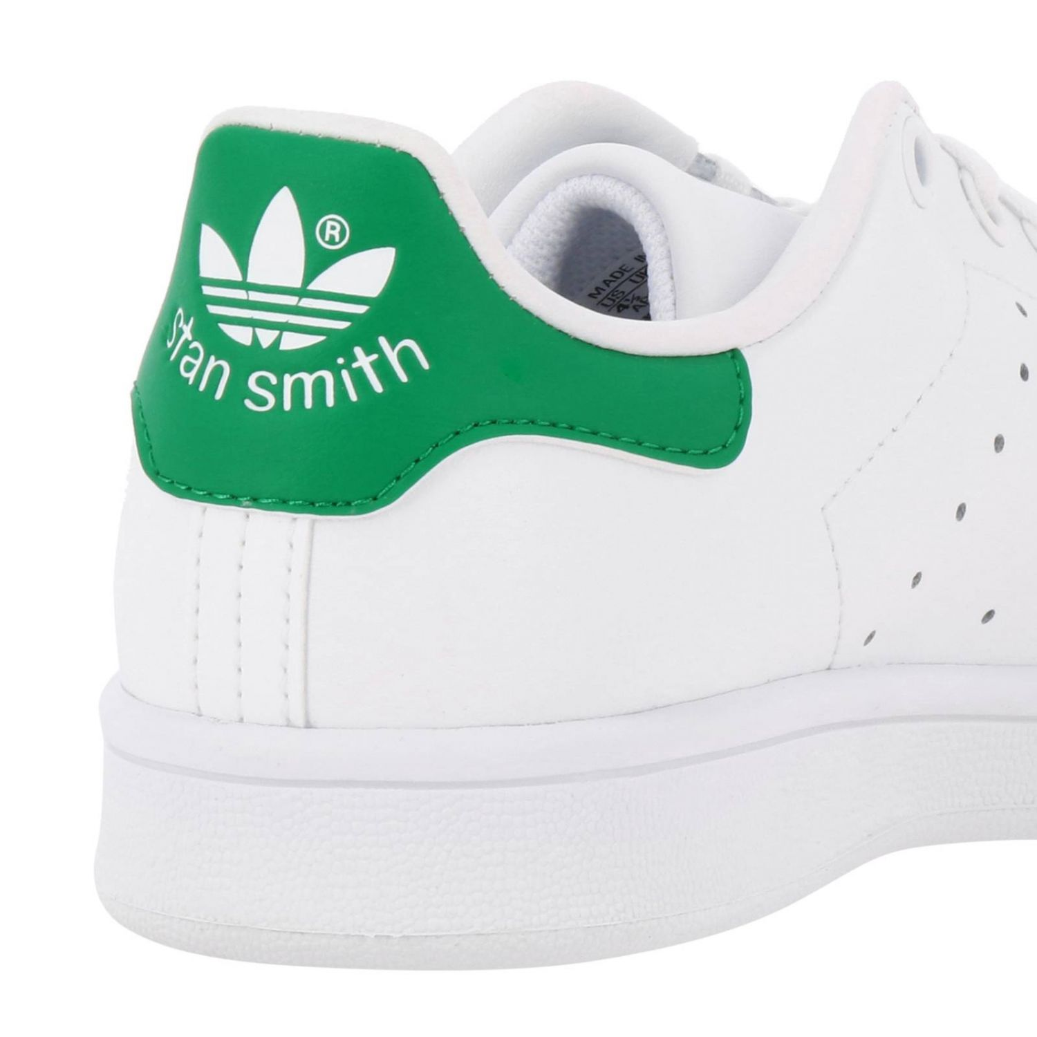 Shoes Adidas Originals: Stan Smith J Adidas Originals Sneakers in smooth leather white 4