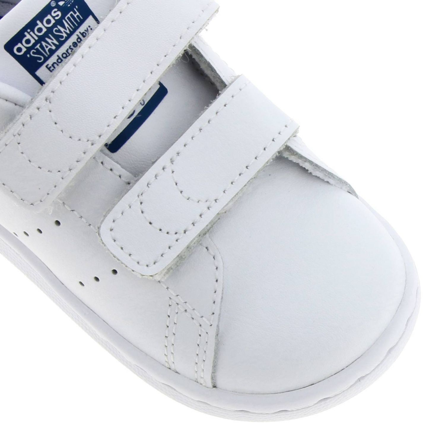 Shoes Adidas Originals: Stan Smith Adidas Originals Sneakers in smooth leather with colored heel white 3