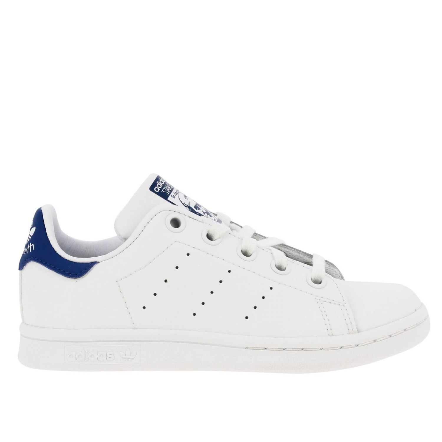 Shoes Adidas Originals: Stan Smith C Adidas Originals Sneakers in leather with contrasting heel white 1