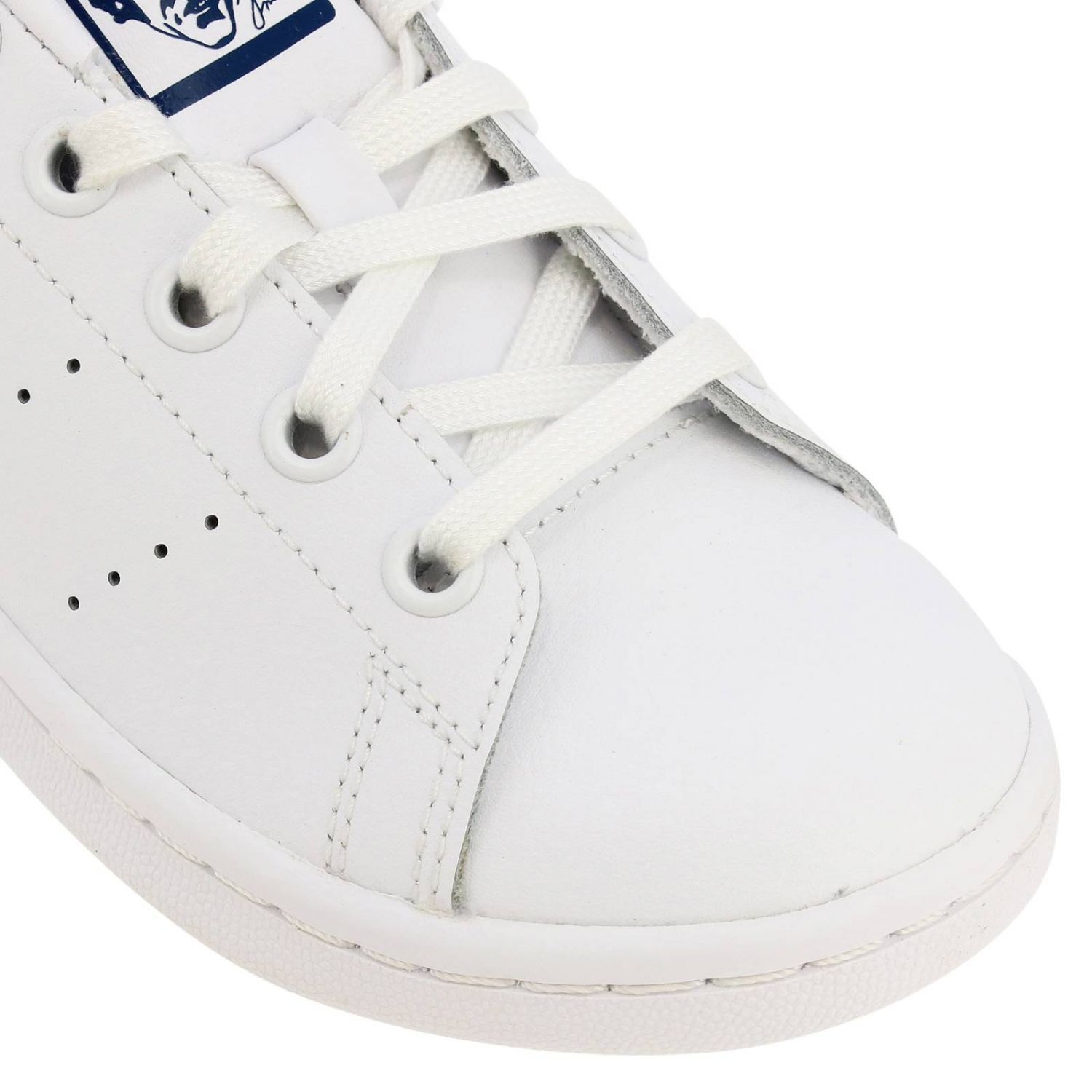 Shoes Adidas Originals: Stan Smith C Adidas Originals Sneakers in leather with contrasting heel white 3