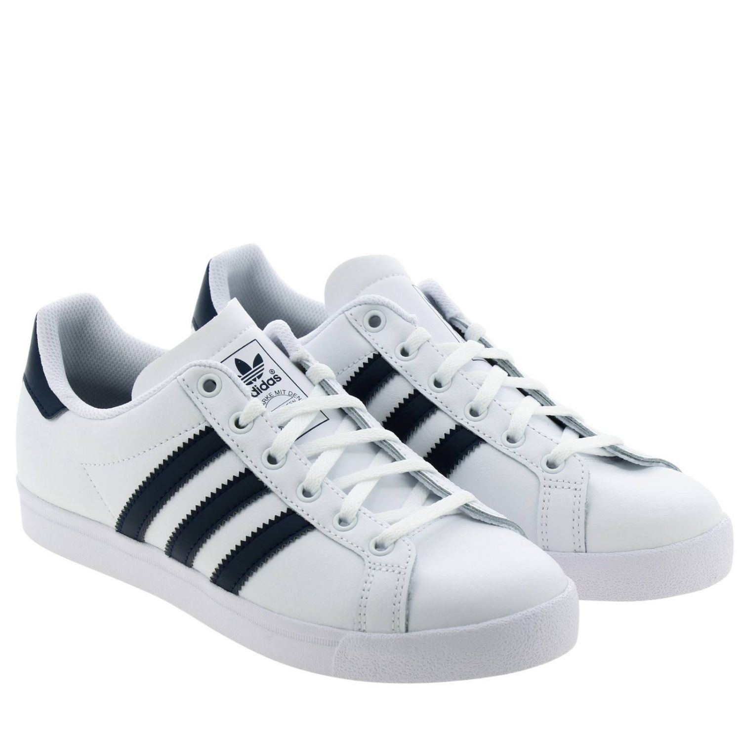 Coast star J Adidas Originals sneakers in leather with contrasting bands white 2