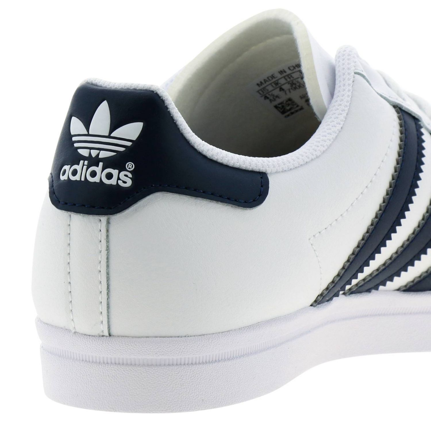 Coast star J Adidas Originals sneakers in leather with contrasting bands white 4