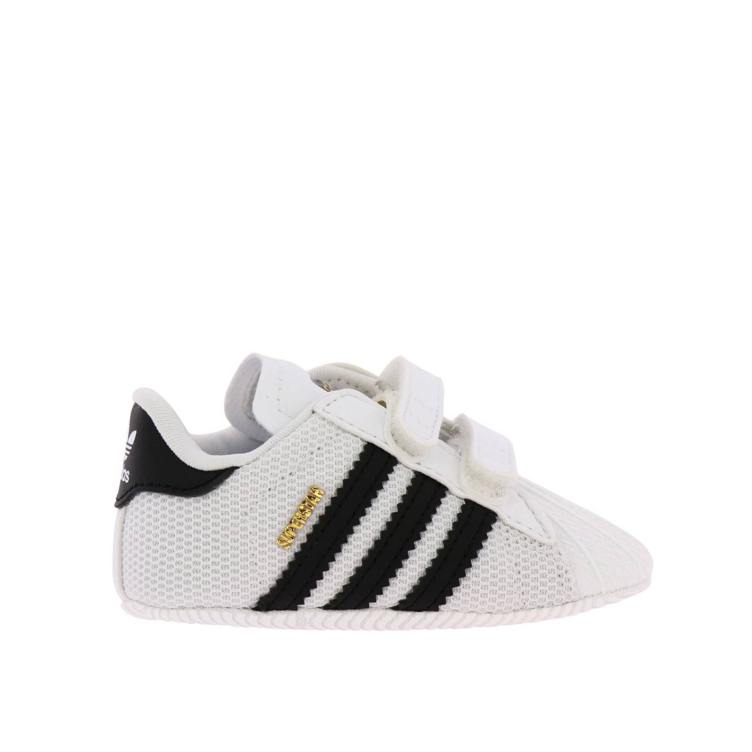 Shoes Adidas Originals: Adidas Originals Superstar sneakers in canvas and rubber white 1
