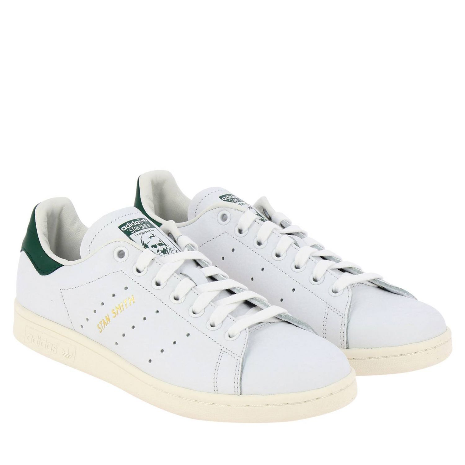 Sneakers Adidas Originals: Stan Smith Adidas Originals Sneakers in smooth leather white 2