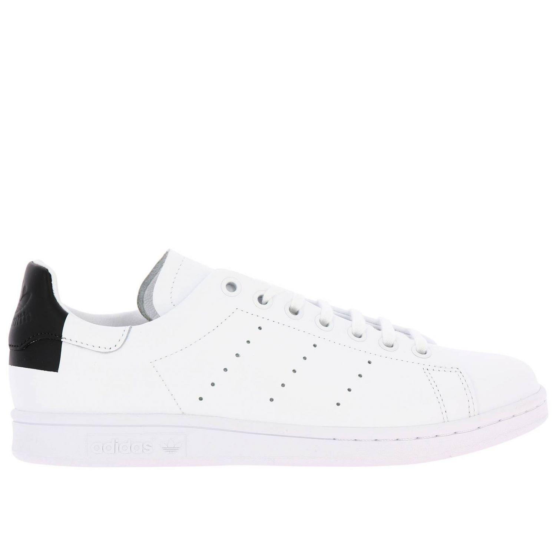 Спортивная обувь Adidas Originals: Кроссовки Stan Smith Recon Adidas Originals из кожи с перфорацией белый 1