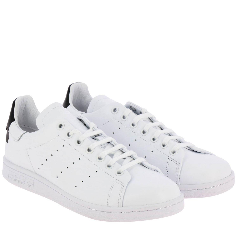 Спортивная обувь Adidas Originals: Кроссовки Stan Smith Recon Adidas Originals из кожи с перфорацией белый 2