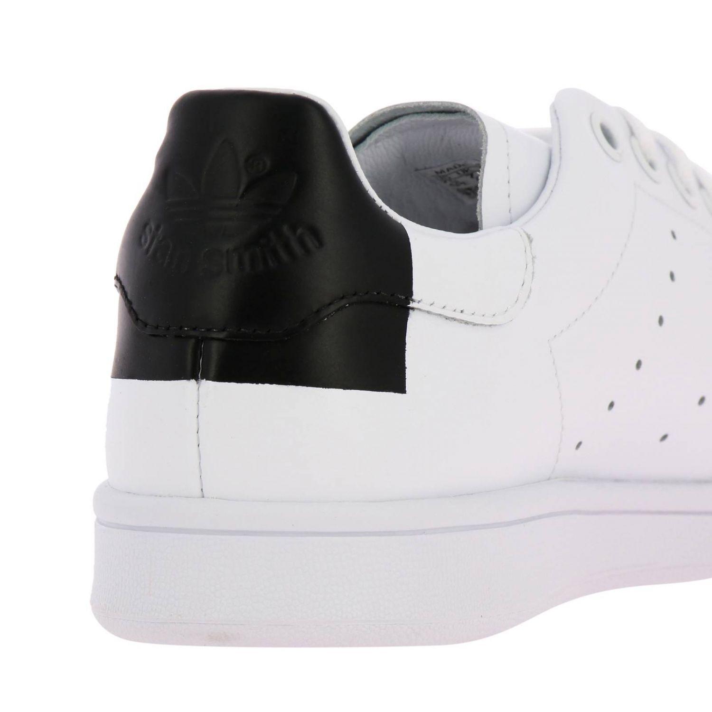 Спортивная обувь Adidas Originals: Кроссовки Stan Smith Recon Adidas Originals из кожи с перфорацией белый 4