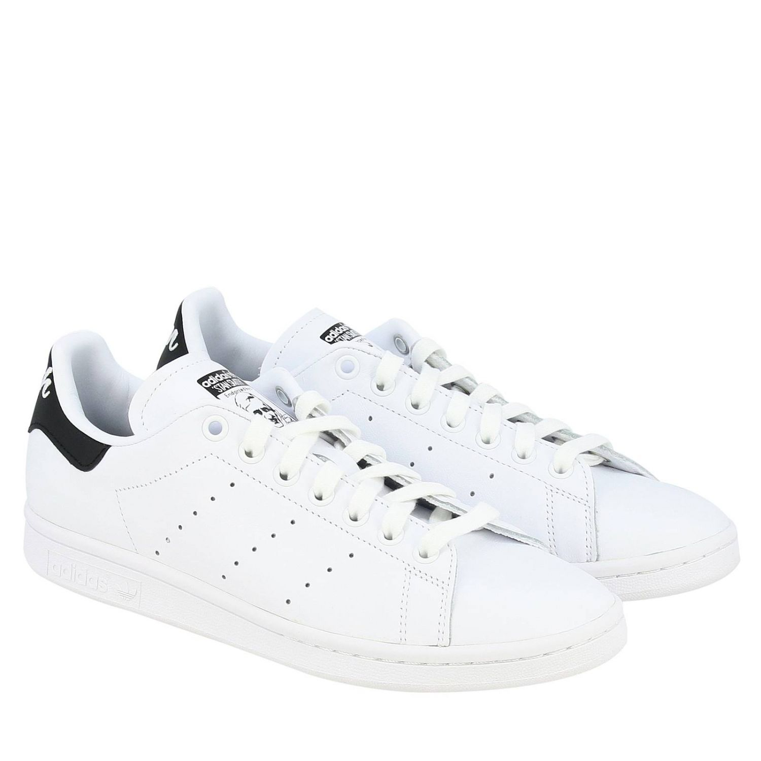 Sneakers Adidas Originals: Stan Smith Adidas Originals Sneakers in leather with contrasting heel white 2