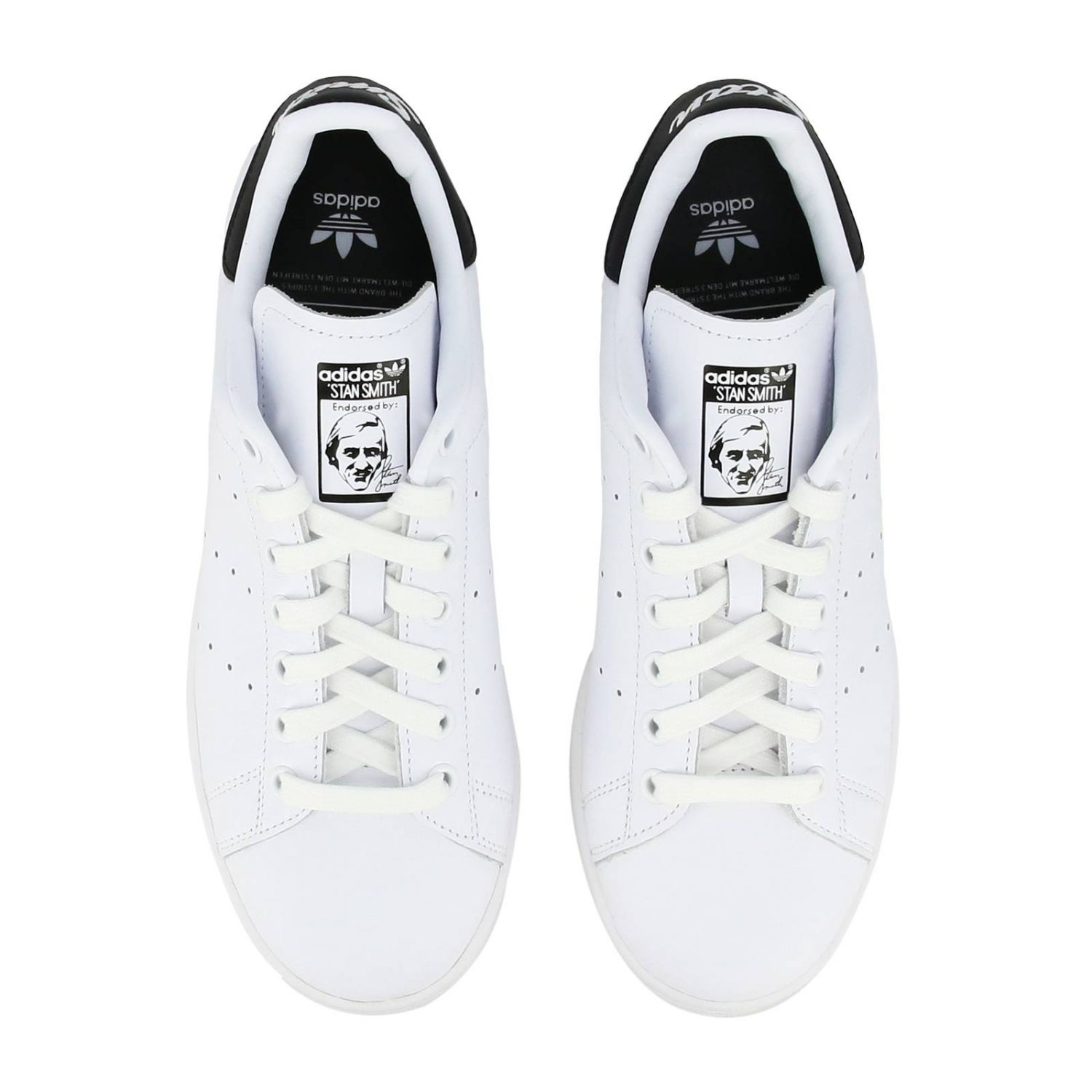 Sneakers Adidas Originals: Stan Smith Adidas Originals Sneakers in leather with contrasting heel white 3