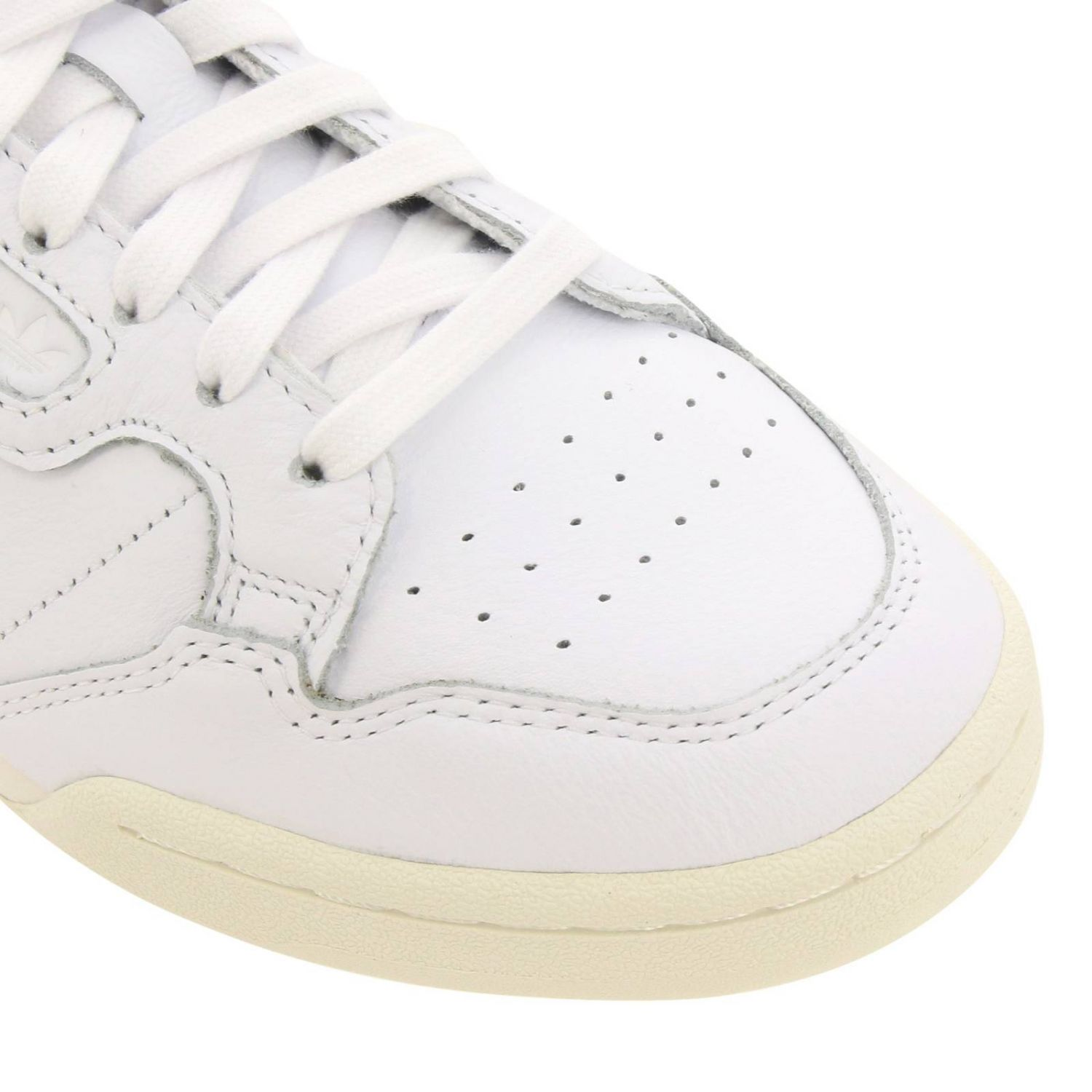 Sneakers Adidas Originals: Adidas Originals 80 Sneakers in smooth leather with holes white 3