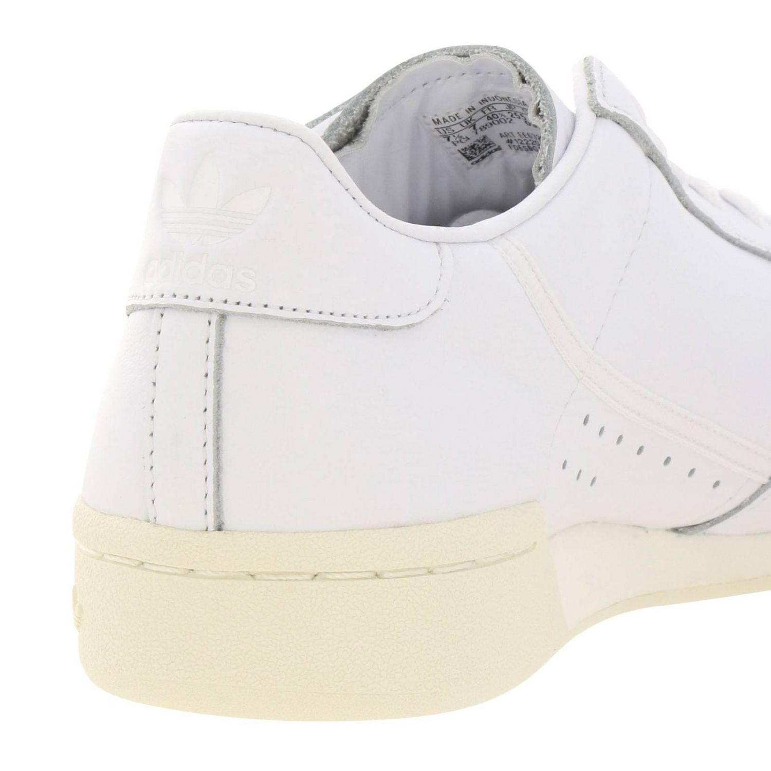 Sneakers Adidas Originals: Adidas Originals 80 Sneakers in smooth leather with holes white 4