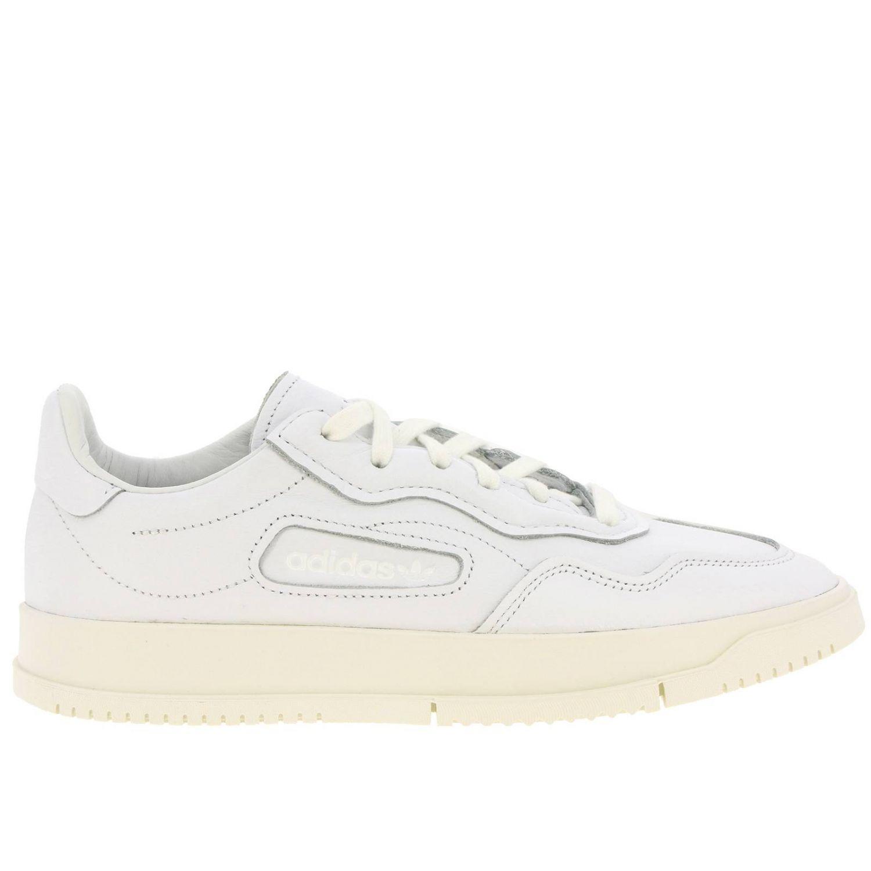 Sneakers Adidas Originals: Sc premiere Originals Originals Sneakers in leather white 1