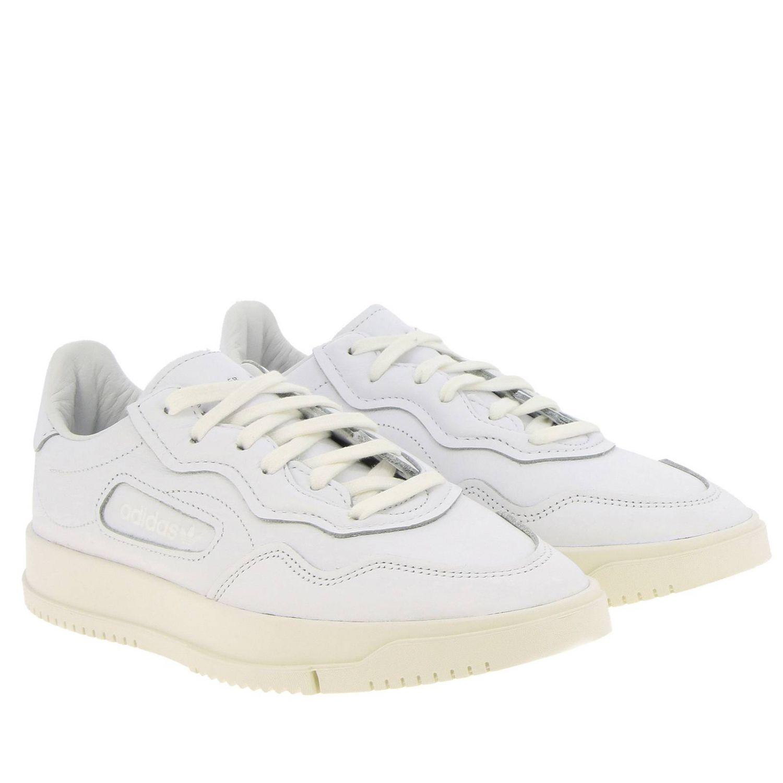 Sneakers Adidas Originals: Sc premiere Originals Originals Sneakers in leather white 2