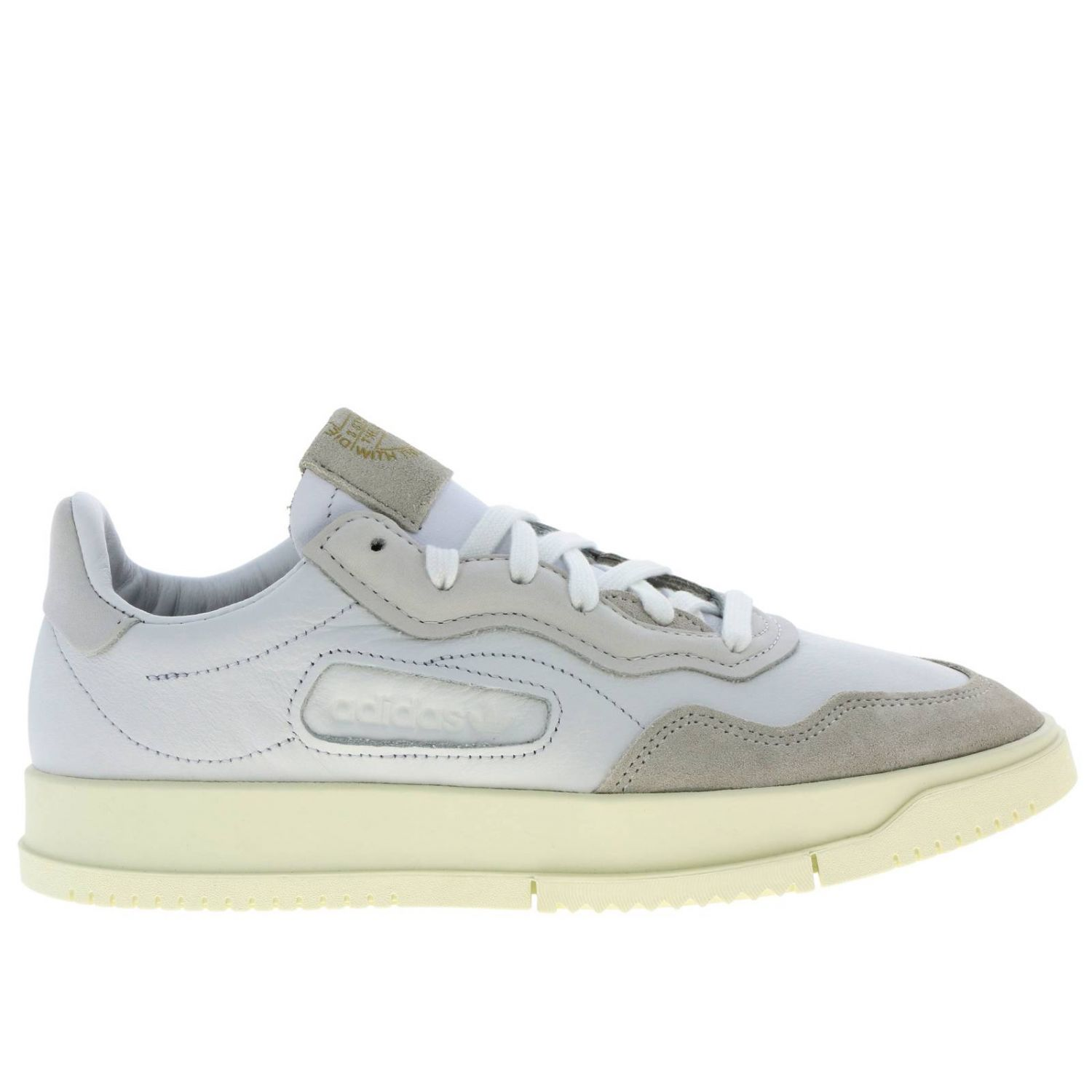 Sneakers Adidas Originals: Originals Originals Sc premiere sneakers in leather and suede white 1