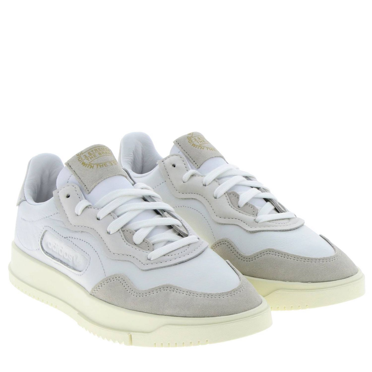 Sneakers Adidas Originals: Originals Originals Sc premiere sneakers in leather and suede white 2