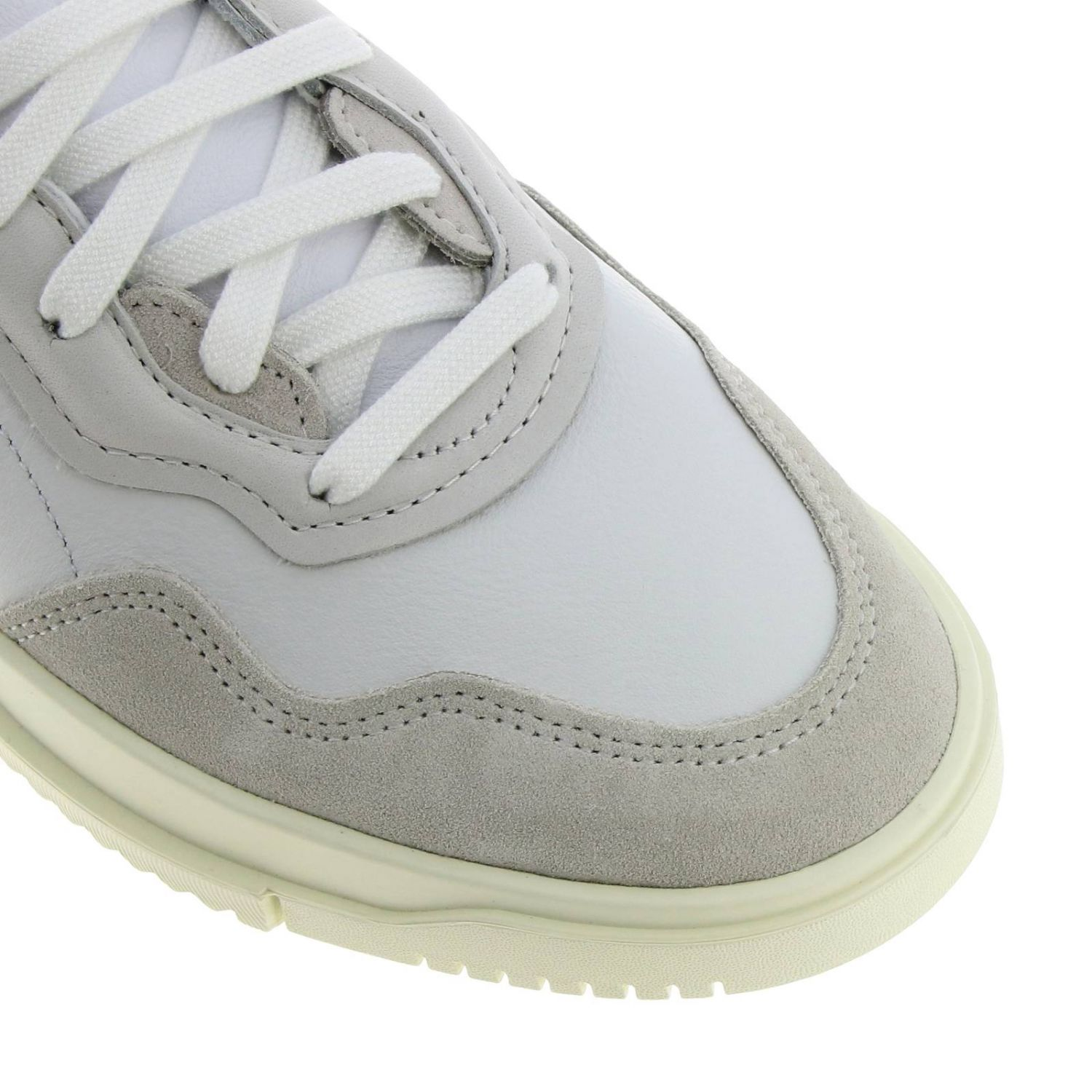Sneakers Adidas Originals: Originals Originals Sc premiere sneakers in leather and suede white 3