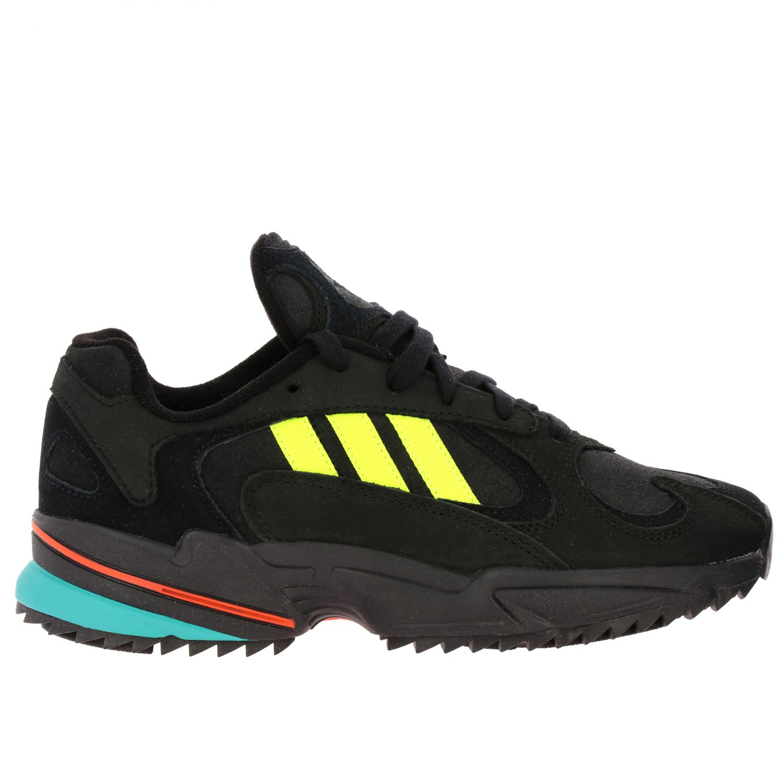 Sneakers Adidas Originals: Eqt gazelle sneakers pelle e rete con contrasti blue 1
