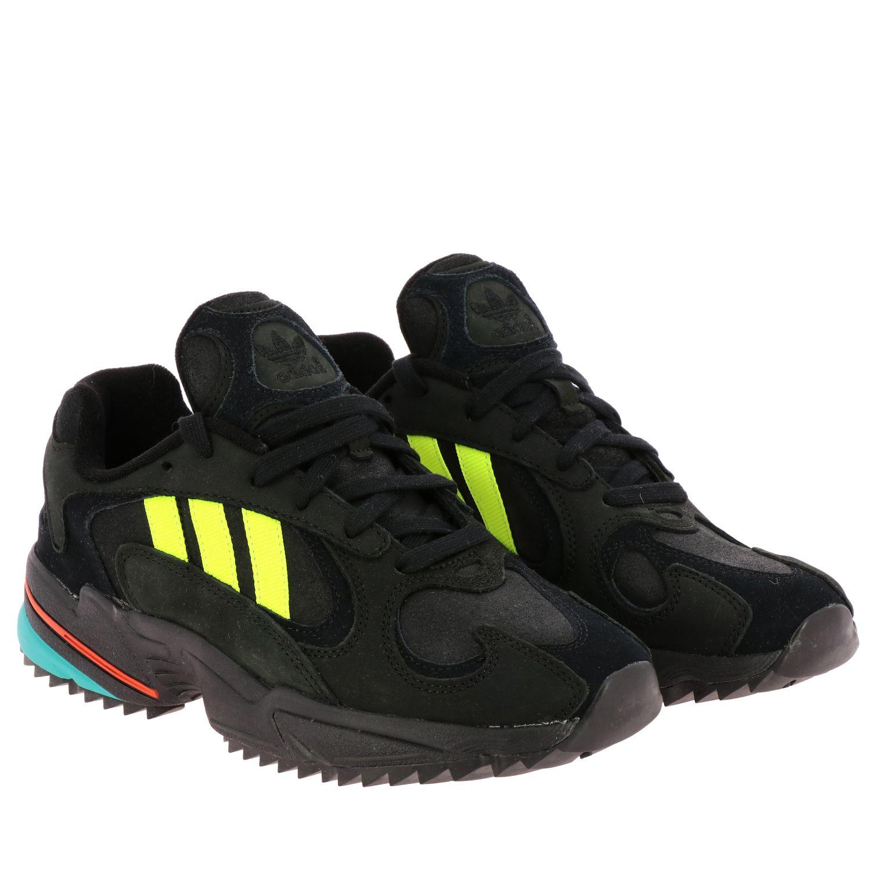 Sneakers Adidas Originals: Eqt gazelle sneakers pelle e rete con contrasti blue 2