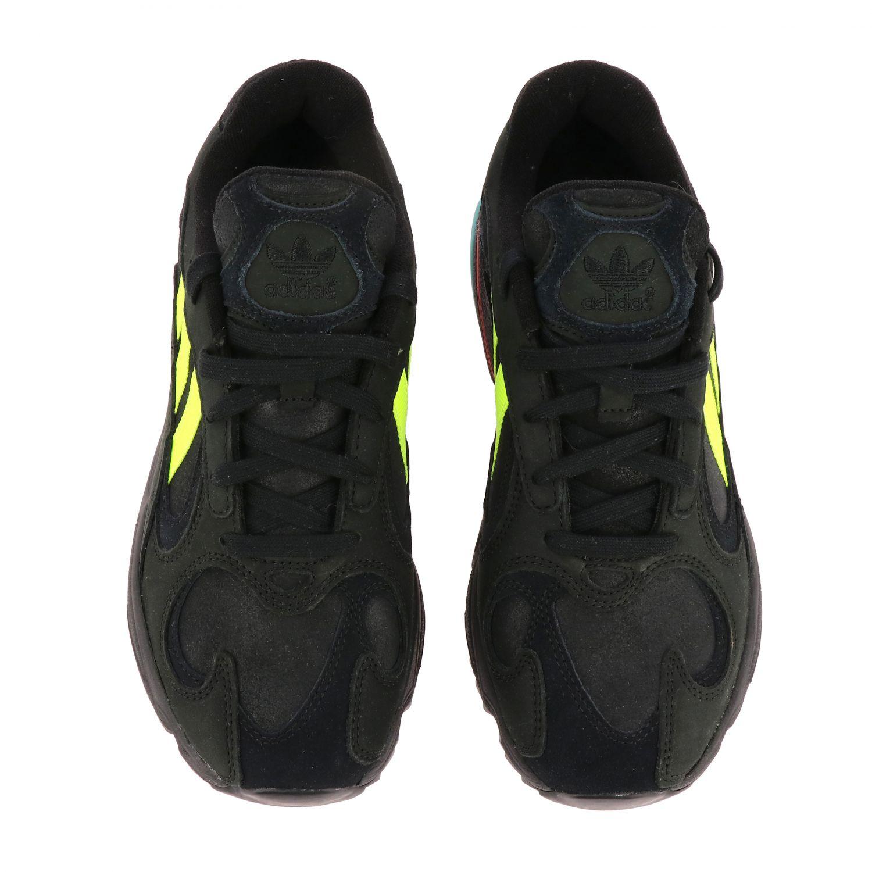 Sneakers Adidas Originals: Eqt gazelle sneakers pelle e rete con contrasti blue 3