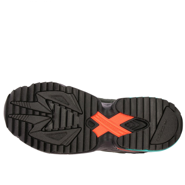 Sneakers Adidas Originals: Eqt gazelle sneakers pelle e rete con contrasti blue 6