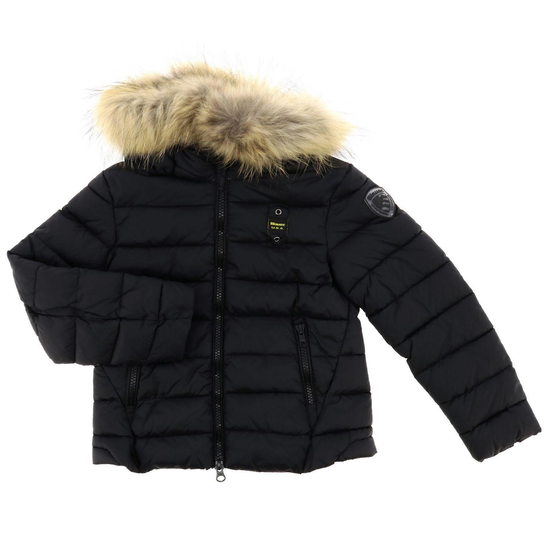 Jacket kids Blauer black 1
