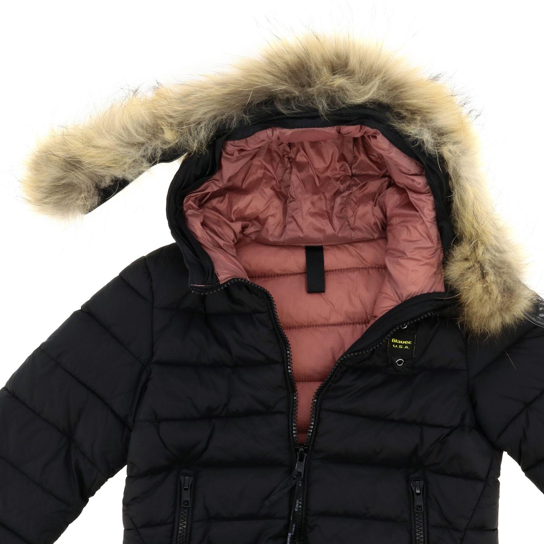 Jacket kids Blauer black 3